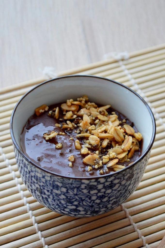 Azuki Bøwl – Porridge aux haricots rouges