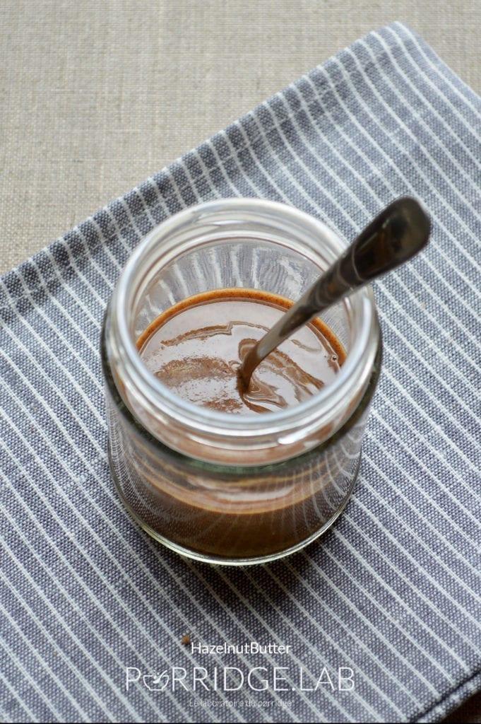 Hazelnut Butter – Beurre de noisette maison