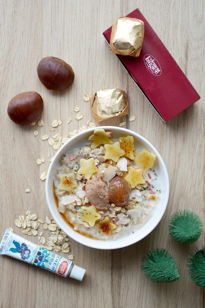 Chestnut Bøwl – Porridge aux marrons