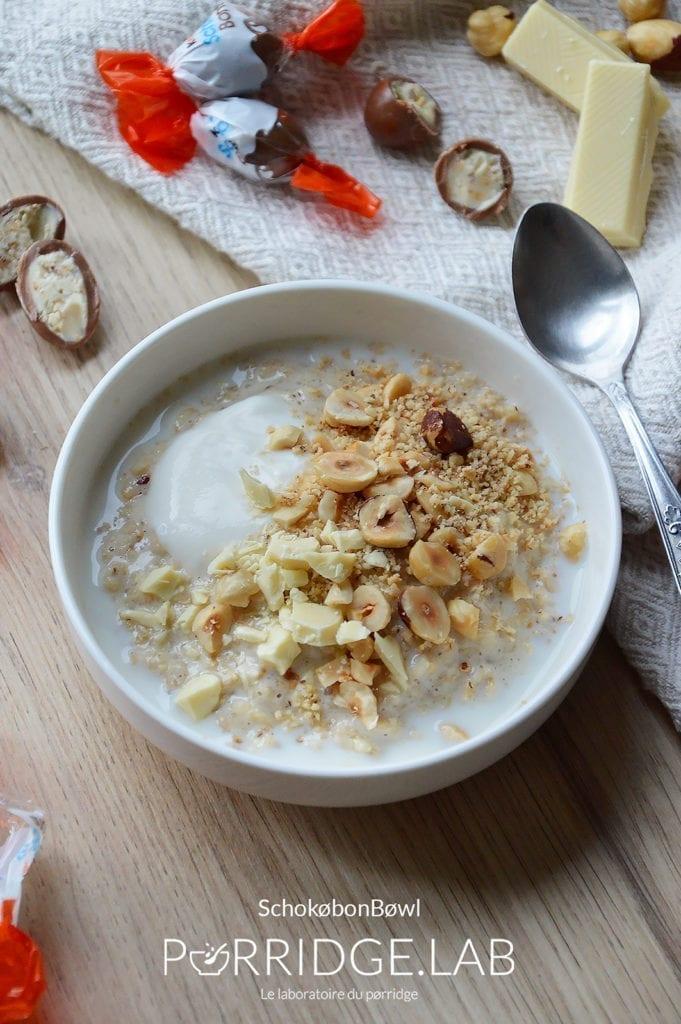 Schokøbon Bøwl – Porridge façon Kinder Schokobon