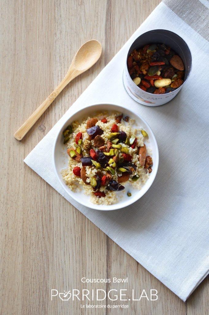Couscous Bøwl – Porridge de couscous sucré