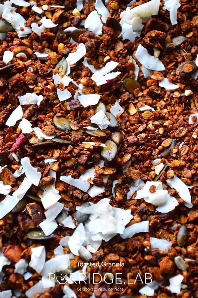 Toasted Granola – Granola cannelle, amandes noix de pecan