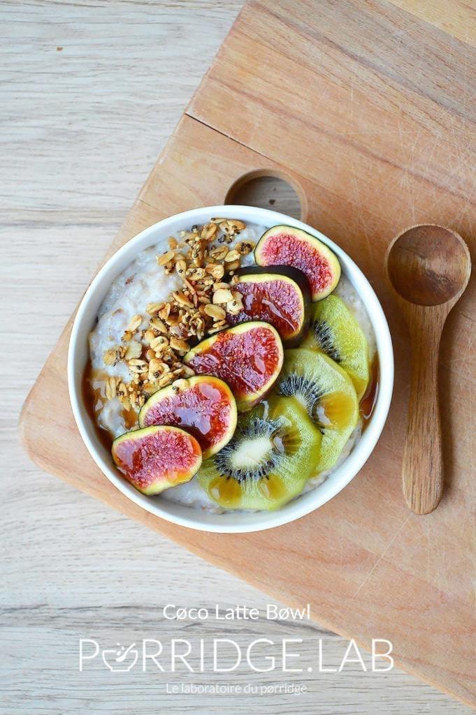Latte Bowl – 3 recettes de Porridges Overnight façon latte