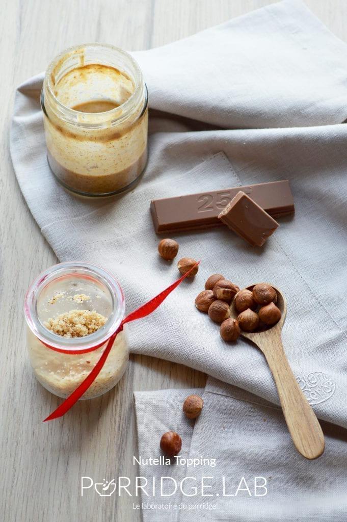 Nutella Topping – Sauce maison façon Nutella sain