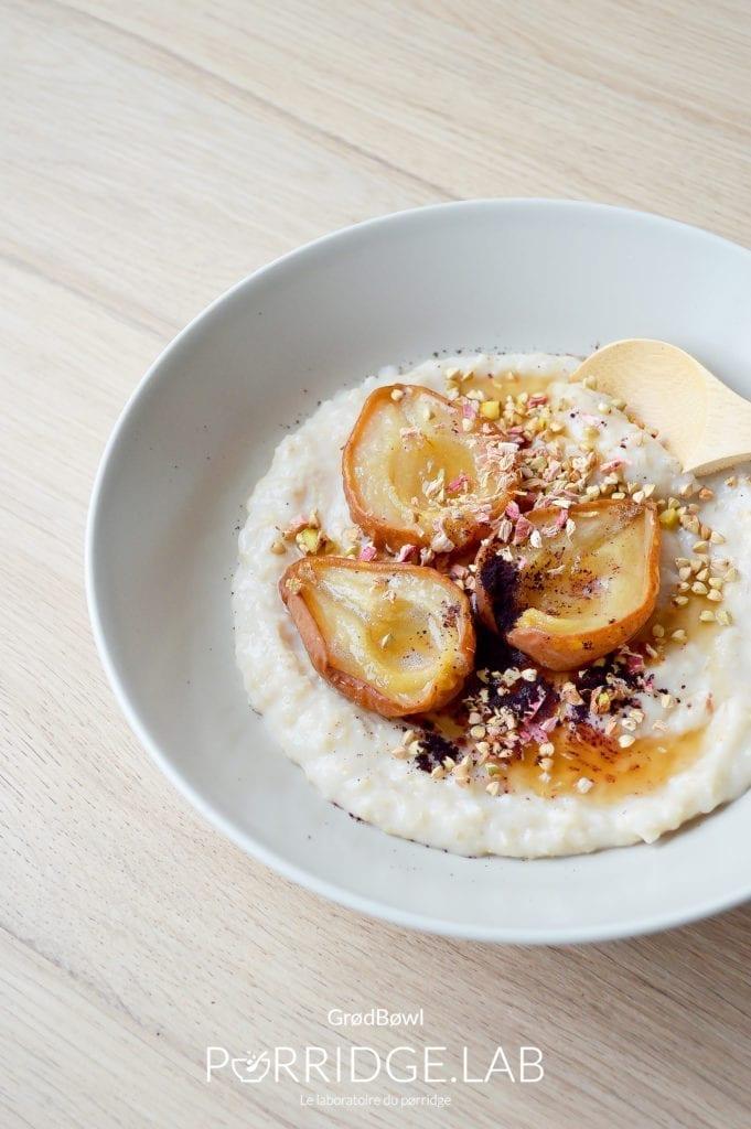 Grød Bøwl – Porridge d'orge Danois