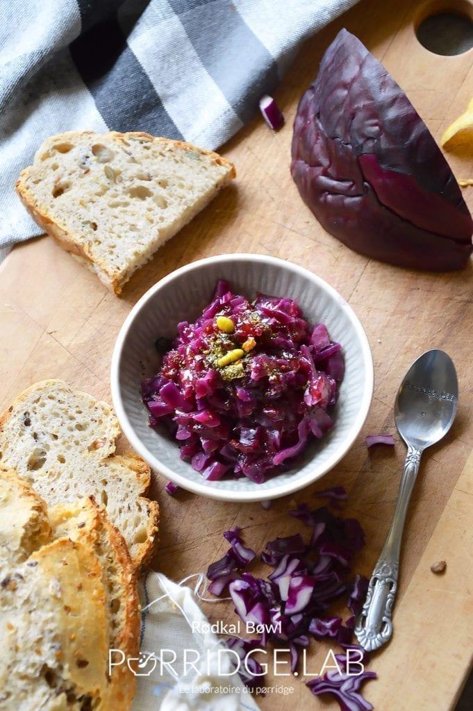 RØDKÅL – Mon bol danois au chou rouge