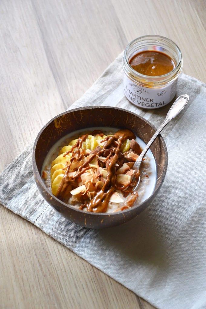 Coco-nut Bowl – Porridge facile Coco Amande Porridge.Lab