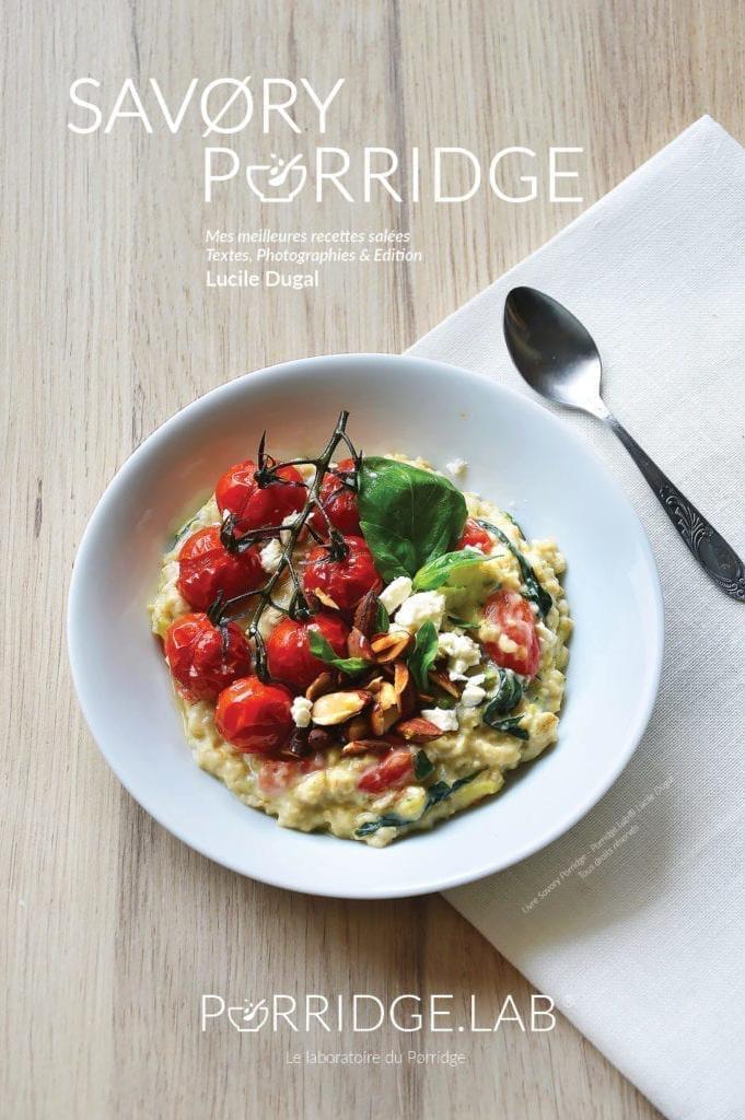 SAVØRY PORRIDGE – Livre de recettes et porridges salés