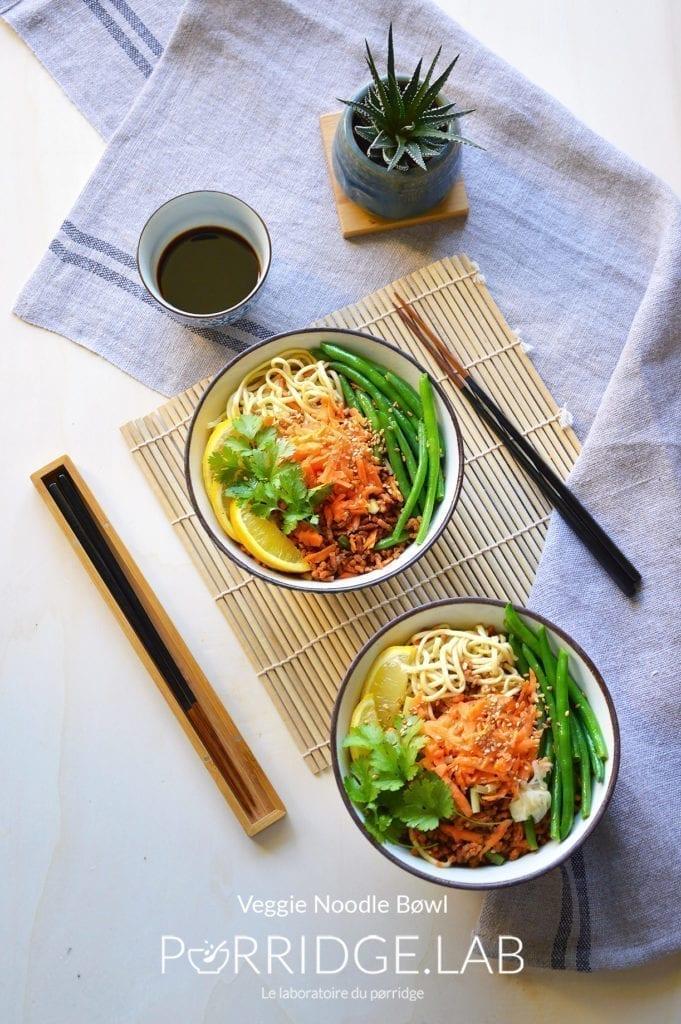 Veggie Noodle Bøwl – Buddha Bøwl