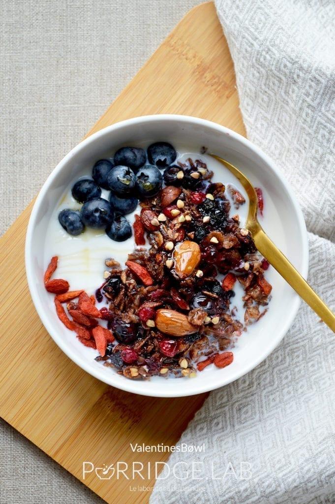 «A porridge a day» ?